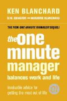 The One Minute Manager Balances Work and Life - Ken Blanchard,D. W. Edington,Marjorie Blanchard - cover