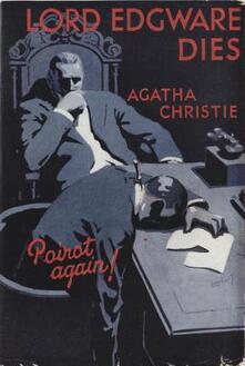 Lord Edgware Dies - Agatha Christie - cover