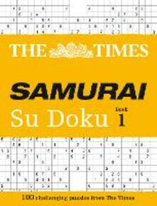 The Times Samurai Su Doku: 100 Challenging Puzzles from the Times - The Times Mind Games - cover