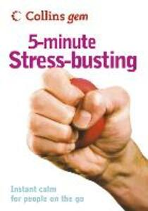 5-Minute Stress-busting - Vicky Hales-Dutton - cover
