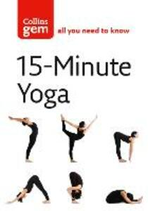 15-Minute Yoga - Chrissie Gallagher-Mundy - cover