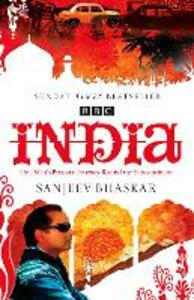 India with Sanjeev Bhaskar: One Man's Personal Journey Round the Subcontinent - Sanjeev Bhaskar - cover
