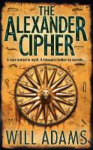 The Alexander Cipher - Will Adams - cover