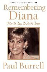 The Way We Were: Remembering Diana - Paul Burrell - cover