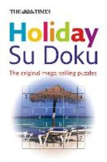 The Times Holiday Su Doku - cover