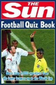 The Sun Football Quiz Book - Nick Holt - cover