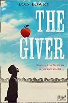 The Giver - Lois Lowry - cover