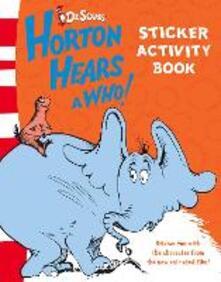 Sticker Activity Book - Dr. Seuss - cover