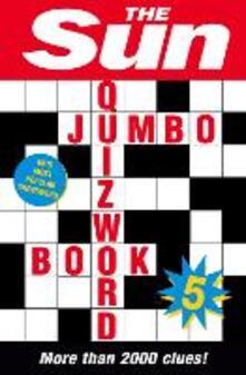 Sun Jumbo Quizword Book 5 - The Sun - cover