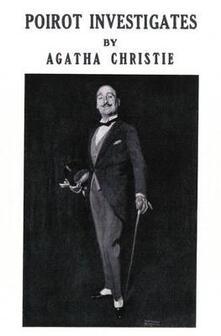 Poirot Investigates - Agatha Christie - cover
