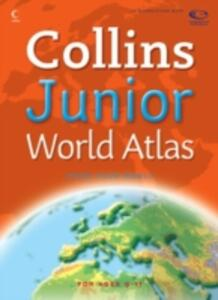 Collins Junior World Atlas - cover