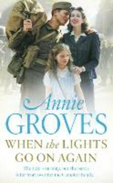 When the Lights Go On Again - Annie Groves - cover