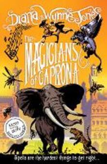 The Magicians of Caprona - Diana Wynne Jones - cover