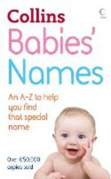 Babies' Names - Julia Cresswell - cover
