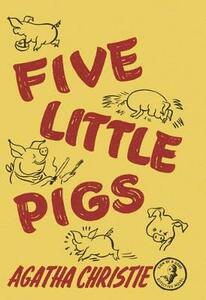 Five Little Pigs - Agatha Christie - cover