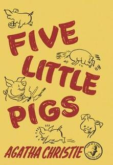 Five Little Pigs - Agatha Christie - cover