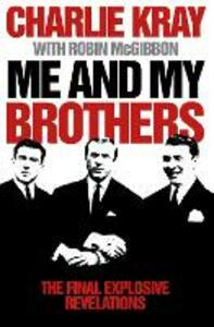 Me and My Brothers - Charlie Kray - cover