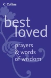 Best Loved Prayers and Words of Wisdom - Martin Manser - cover