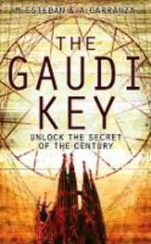 The Gaudi Key - Esteban Martin,Andreu Carranza - cover