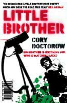 Little Brother - Cory Doctorow - cover