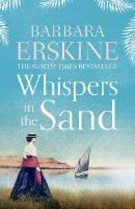 Whispers in the Sand - Barbara Erskine - cover