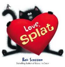Love, Splat - Rob Scotton - cover