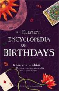 The Element Encyclopedia of Birthdays - Theresa Cheung - cover
