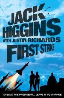 First Strike - Jack Higgins - cover