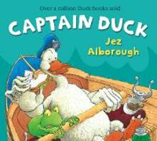 Captain Duck - Jez Alborough - cover