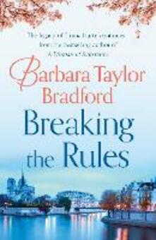 Breaking the Rules - Barbara Taylor Bradford - cover