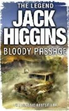 Bloody Passage - Jack Higgins - cover
