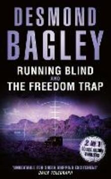 Running Blind / The Freedom Trap - Desmond Bagley - cover