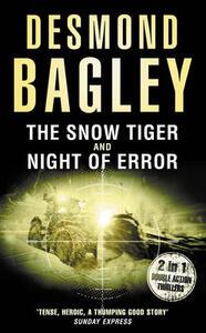 The Snow Tiger / Night of Error - Desmond Bagley - cover