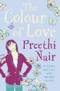 The Colour of Love - Preethi Nair - cover
