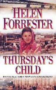Thursday's Child - Helen Forrester - cover