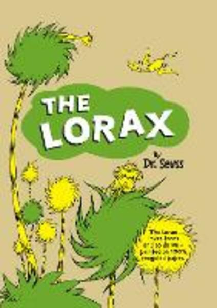 The Lorax - Dr. Seuss - cover
