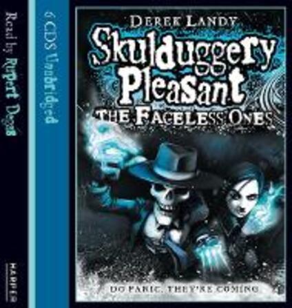The Faceless Ones - Derek Landy - cover