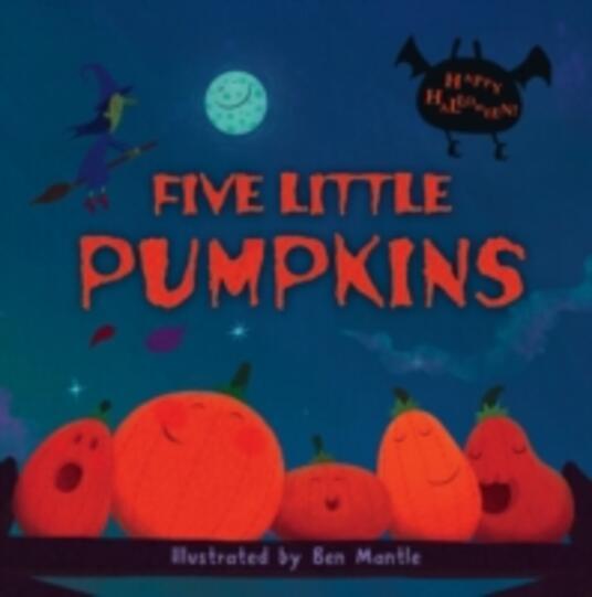 Five Little Pumpkins - cover