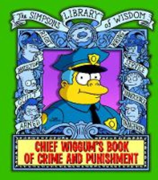 Chief Wiggum - Matt Groening - cover