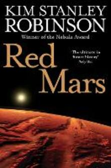 Red Mars - Kim Stanley Robinson - cover