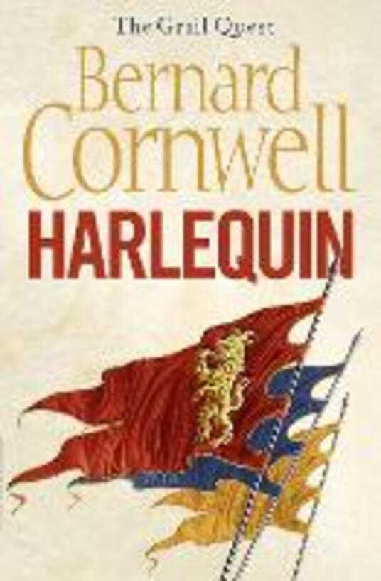 Harlequin - Bernard Cornwell - cover