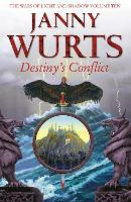 Destiny's Conflict: Book Two of Sword of the Canon - Janny Wurts - cover
