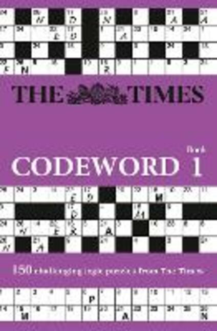 The Times Codeword: 150 Cracking Logic Puzzles - The Times Mind Games - cover