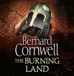 The Burning Land - Bernard Cornwell - cover