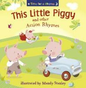 THIS LITTLE PIGGY AND OTHER ACTION RHYMES - cover