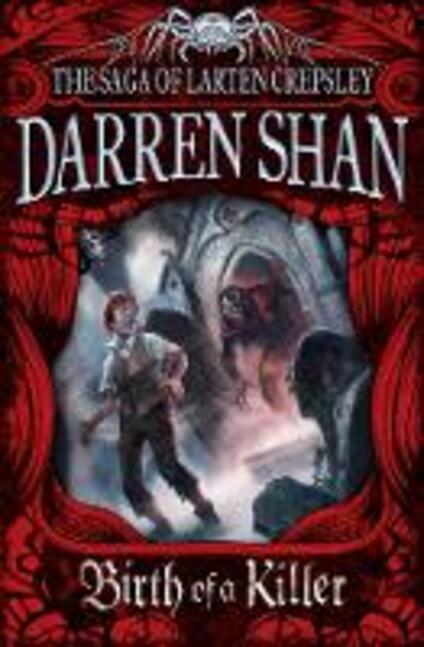 Birth of a Killer - Darren Shan - cover