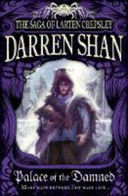 Palace of the Damned - Darren Shan - cover