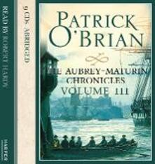Volume Three, The Surgeon's Mate / The Ionian Mission / Treason's Harbour - Patrick O'Brian - cover
