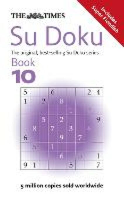The Times Su Doku Book 10: 150 Challenging Puzzles from the Times - The Times Mind Games - cover