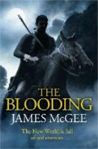 The Blooding - James McGee - cover